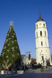 Decoration of the Christmas tree Stock Photos