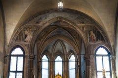 Decoration Church santa maria gloriosa dei frari. VENICE, ITALY - MARCH 30, 2017: decoration of Basilica di santa maria gloriosa dei frari The Frari. The Church royalty free stock images