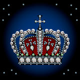 Decoration crown Stock Image
