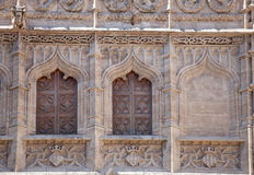 Decoration detail of the facade of the Old Silk ExchangeLonja d Royalty Free Stock Image