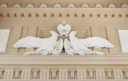 Decoration detail from Schonbrunn Palace in Vienna Stock Photo