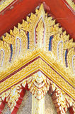 Decoration details of buddhist temple Stock Photos