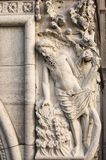 Decoration of Doge's palace. Venice. Italy. Stock Photos