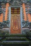 Decoration door in bali indonesia Stock Photography