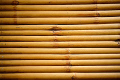 Decoration dry bamboo fence background Royalty Free Stock Photography