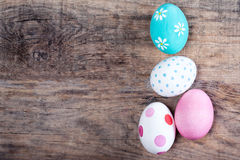 Free Decoration Easter Eggs With Copy Space. Happy Easter! Stock Image - 88835341