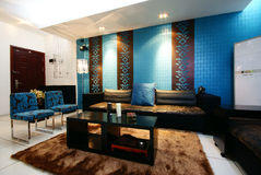 Decoration effect. Well renovated home of the Beijing residents Stock Image