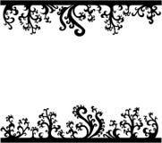 Decoration element. Vector floral design Stock Photography