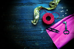 Decoration elements for craft Royalty Free Stock Photography