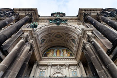 Decoration of entrance in Berliner Dom Stock Photos