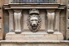 Decoration of external wall of palazzo pitti Royalty Free Stock Photo