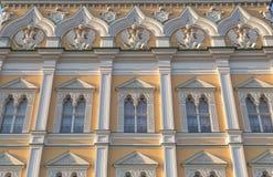 Decoration of facade Grand Kremlin Palace Stock Image
