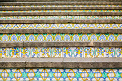 Decoration of famous steps in Caltagirone Stock Photography
