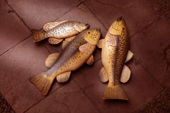 Decoration fish Stock Image