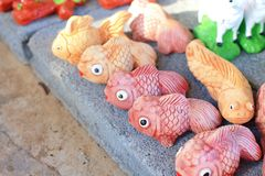 Decoration fish Royalty Free Stock Photo
