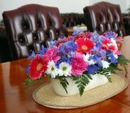 decoration flower table 库存照片