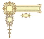 Decoration frame Stock Images