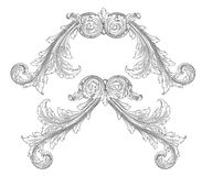 Decoration frame Stock Photography