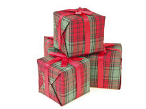 Decoration gift stack Stock Photography