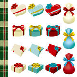 Decoration gifts set Stock Photo