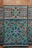 Decoration of Hassan II Mosque Stock Images