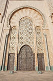 Decoration of Hassan II Mosque Royalty Free Stock Image