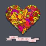 Decoration heart 04 Royalty Free Stock Photography
