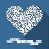 Decoration heart 06 stock illustration
