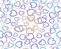 Decoration hearts background Royalty Free Stock Photography