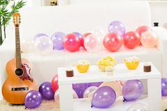 Decoration For Home Party Stock Photo
