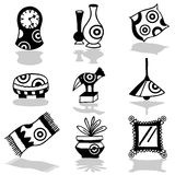 Decoration icons Stock Photo