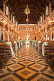Decoration Inside the Roman Catholic Church Stock Image