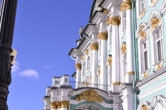 Decoration item Hermitage. The most famous palaces of St. Petersburg Stock Photo