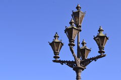 Decoration item Hermitage vintage lamp Stock Photos