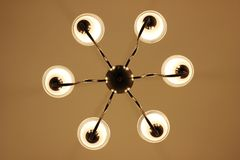 Decoration light, simple chandelier Royalty Free Stock Images