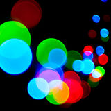 Decoration lights. Bright defocused decoration lights background Royalty Free Stock Image