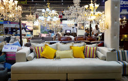 Decoration living Design both indoor and outdoor for show and sa Stock Photo