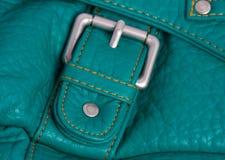 Decoration lock of a handbag Royalty Free Stock Photo