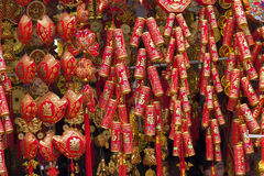 Decoration for lunar New Year Stock Images