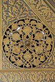 Decoration of minbar in Blue Mosque Royalty Free Stock Photo