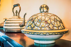 Decoration with moroccan style Stock Photo