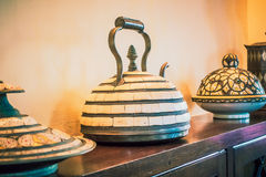Decoration with moroccan style Royalty Free Stock Photos