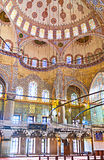 The decoration in Mosque Royalty Free Stock Photos