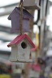 Decoration / nesting box. Nesting box decor, sweet things Royalty Free Stock Photography