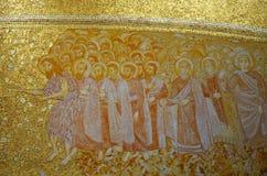 Decoration of the new Basilica of Fatima Stock Photos