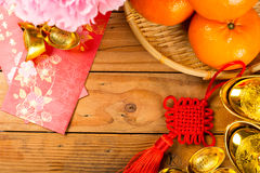 Decoration object oriental chinese style Stock Photos
