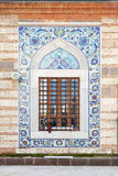 Decoration of old mosque window. Izmir, Turkey Stock Photo