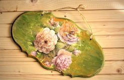 Decoration. Old decoration on wooden background Royalty Free Stock Photography