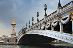 Decoration On Bridge Stock Image