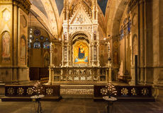 Decoration of Orsanmichele church in Florence Royalty Free Stock Photography